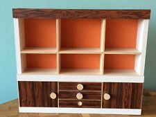 Schrank Bodo Hennig Barbie Skipper Puppenstube Puppenhaus 1:8 dollhouse cabinet