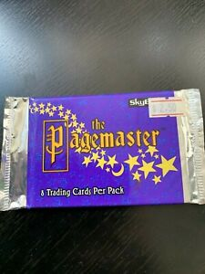 SKYBOX THE PAGEMASTER 1994 TRADING CARDS - BRAND NEW 1 x PACKET OF 8 CARDS