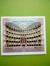 2013 francobollo Teatro La Fenice - Venezia VARIETA' NON FUSTELLATO