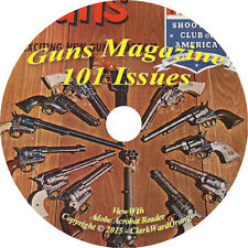 Guns Magazine Collection 101 Issues on DVD Reload Hunting Ammo Gun Collecting