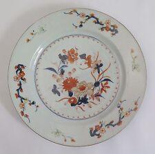 18th century Chinese Qianlong imari pattern porcelain export plate c1750