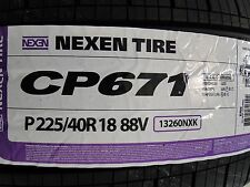 1 New 225/40R18 NEXEN 225 40 18 Nexen CP671 All Season Tire new DOT 2017!!!