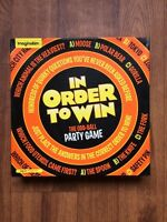 In Order to Win Board Game