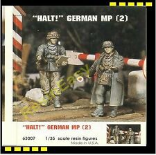 "Free Shipping resin soldier 1/35 Jaguar 63007 Resin Figure ""HALT"" German MP (2)"