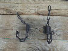 Metal Chain Link WALL HOOK  Rustic Industrial Urban Farmhouse Man Cave Biker DIY