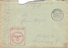 Feldpost 7. Schul. kp. (Boden-Bord) Luftfl. Nachrichten Schule 1. Norhausen 1942