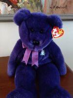 "Ty Beanie Buddy ~ PRINCESS the 14"" Plush Original 1998 Diana Bear ~ MWMT'S"