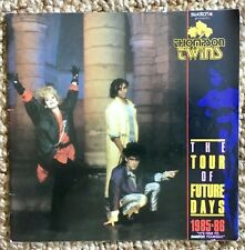 Vintage Thompson Twins The Tour Of Future Days 1985-86 Concert Tour Program!