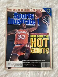 Sports Illustrated 1998 - 1999 College Basketball Preview Billy Owens Syracuse