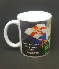 Northern Ireland football France mug euros 2016 dare to dream GAWA free gift box