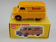 Atlas 1/43 Dinky Toys Bedford 10 ctw Van Kodak 480 orange w/ Box 111366