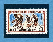 SPRINT '71 - PANINI - Figurina-Sticker - FRANCOBOLLO n. 26b - HAUTE VOLTA - Rec
