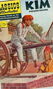 Classics Illustrated #143 March 1958 G/VG Kim