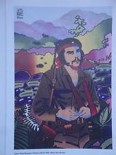 OSPAAAL POLITICAL Poster Che Guevara RENE MEDEROS 12X17 CUBAN HERO REVOLUTION