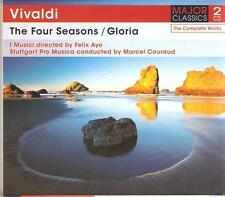 VIVALDI THE FOUR SEASONS / GLORIA - 2 CD BOX SET