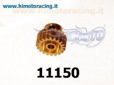 11150 PIGNONE 20 DENTI MODELLI ELETTRICI MODULO 0.6 METALLO MOTOR GEAR HIMOTO