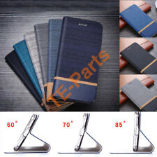Premium Retro PU Leather Wallet Flip Stand For SONY Xperia XZ1 XA1 Case Cover