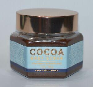1 BATH &. BODY WORKS COCONUT SUGARCANE COCOA BODY SCRUB WASH 7OZ POWDER SHEA