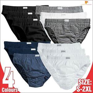 Fruit Of The Loom Men's Classic Slip Briefs 3 PACK Regular Underwear Underpants