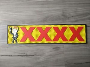 XXXX Fourex man pvc rubber bar mat runner barmat