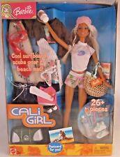 Mattel  2003 Cali Girl Barbie - 26+ Piece Set Surfboard BRAND NEW IN BOX