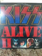 Kiss Alive Ii Lp Vinyl Record Nblp-7076-2-11.98 Casablanca 1977 with Peripharels
