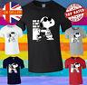 Snoopy Cartoon Joe Cool Men Women Unisex T-shirt Vest Top 3826