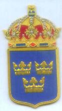 Sweden Swedish Empire Royal Heraldry Crown Crest Blazer Patch Order Seal Vasa EU