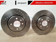 FOR FIAT COUPE 2.0 1996-2000 FRONT BRAKE DISCS 305mm 4 STUD (BREMBO)