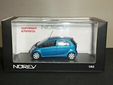 NOREV 470100 PEUGEOT ION BLUE DIECAST MODEL CAR