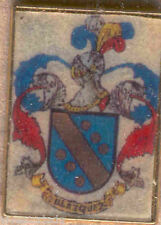Heraldry PIN metallic del last name : BLÁZQUEZ