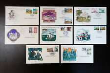Europa First Day Color Cachet Stamp Cover Collection 29 Unaddressed Items