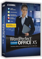 COREL WORDPERFECT OFFICE X5 STANDARD INCL QUATTRO PRO X5,PRESENTATIONS X5, More.