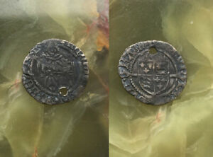 HENRY VIII -  Sovereign Penny - Bishop Thomas Ruthall  - Durham mint