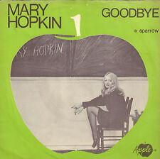 "MARY HOPKIN – Goodbye (BEATLES APPLE LABEL SINGLE 7"" DUTCH PS)"