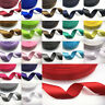 DIY 10mm 15mm 20mm 25mm 50mm Bow Satin Ribbon Wedding Multi-purpose Hair Sewing