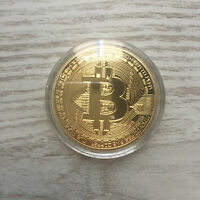 BITCOIN BTC MONEDA FÍSICA COLECCIONABLE CASASCIUS 2013 COIN COLLECTABLE  PHYSIC