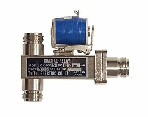 New Tohtsu CX-600N SPDT N Type Coaxial Antenna Relay 12 VDC Coil