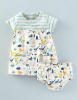 NEW RRP £20 Baby Boden  Stripped Animal Dress (U16)