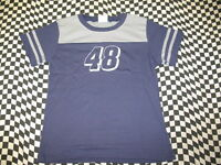 Jimmie Johnson #48 Navy Ladies Jersey by Chase Authentics - Sizes: M, L, or XL
