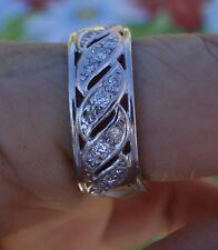 .52ct diamond platinum wedding anniversary or right-hand ring 7.6mm