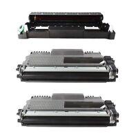 1x Trommel + 2 XL Toner kompatibel für Brother HL2130 HL-2130R  DCP-7055 HL2135W