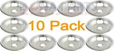 "10 Pack Maytag Crosley Kenmore Stove 8"" Chrome Drip Pan W10196405"