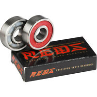 BONES REDS BEARINGS REPLACEMENT 2-Pack Skateboard Scooter Inline Bearing x2