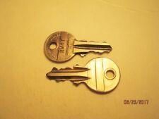 Jukebox Wurlitzer Cabinet Key Rw47 - Fits 1500,1550