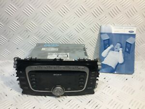 J1087_FORD GALAXY FOCUS S-MAX MONDEO RADIO STEREO CD PLAYER / 7S7T-18C939-AF