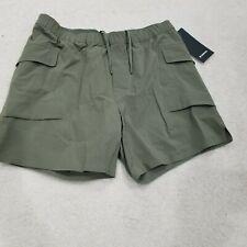 "$98 NWT lululemon Diffraction Cargo Shorts 9"" Stretch Mens Size XL Nylon Blend"