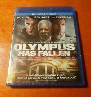 Olympus Has Fallen Blu-ray DVD Morgan Freeman  Gerard Butler  Aaron Eckhart