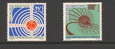 Gabon 1963 SG 200-1 Space Telecommunications MNH