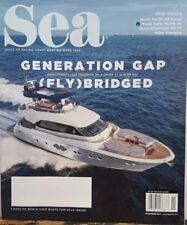 Sea November 2017 Generation Gap Fly Bridge FREE SHIPPING CB